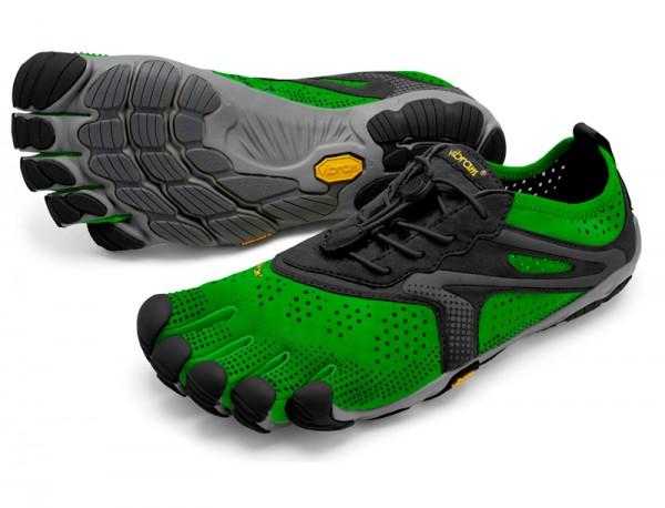 Vibram Five Fingers - V-Run (Herren) - Zehenschuhe - Green/Black