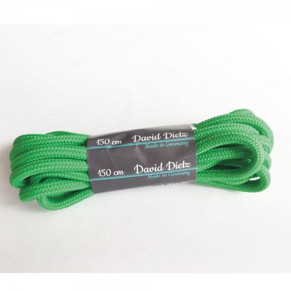 David Dietz - Schnürsenkel Dick 0.60 cm (Unisex) - Hellgrün