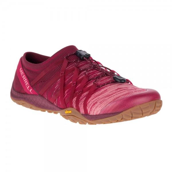 Merrell Barefoot - Trail Glove 4 Knit (Damen) - Barfußschuhe - Persian Red