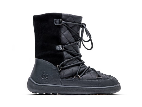 Be Lenka - Snowfox - Barfußschuh-Winterstiefel - (Damen) - Black