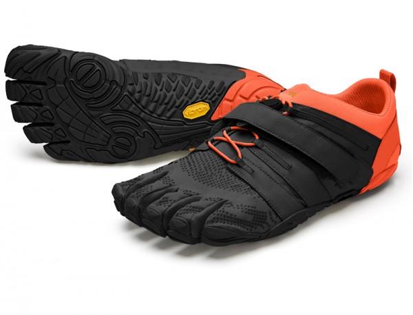 Vibram Five Fingers - V-Train 2.0 (Herren) - Zehenschuhe - Black/Orange