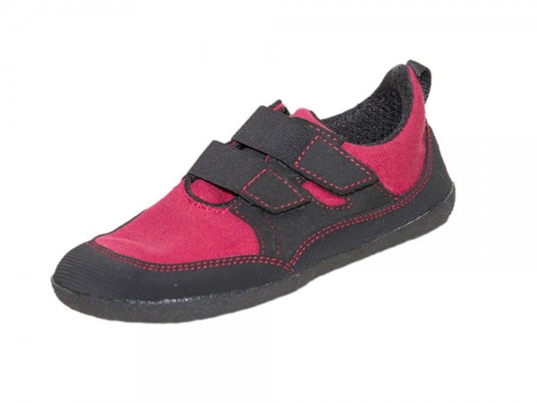 Sole Runner - Puck (Kinder) - Barfußschuhe - Red/Black