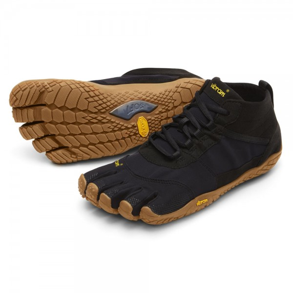 Vibram Five Fingers - V-Trek (Damen) - Zehenschuhe - Black-Gum