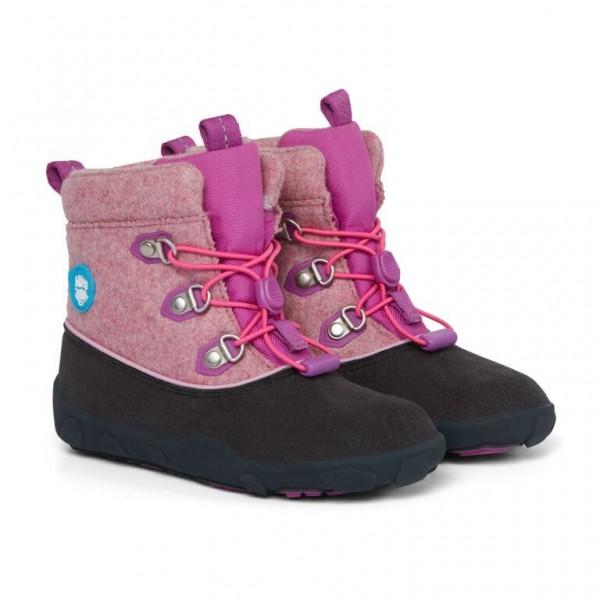 AFFENZAHN - Vogel (Kids) - Winterstiefel - Lila, Pink, Grau