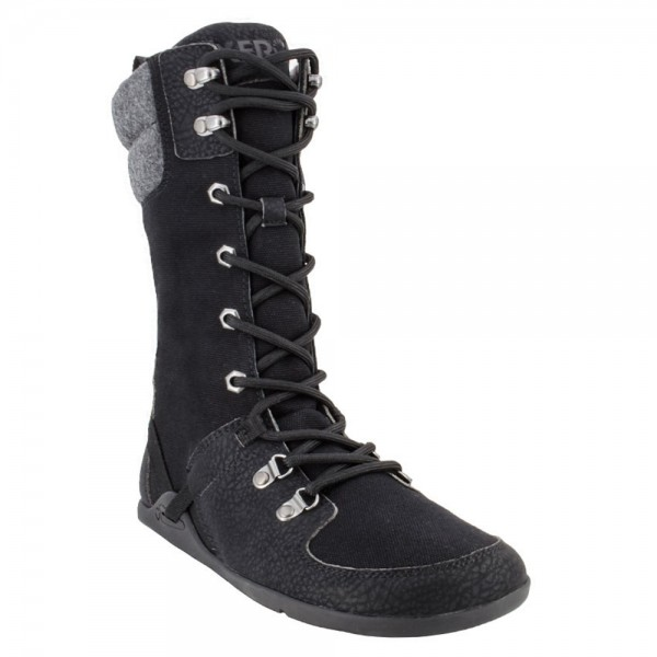 XEROSHOES - Mika - Barfußschuhe (Damen) - Cold Weather Friendly Boot -Black