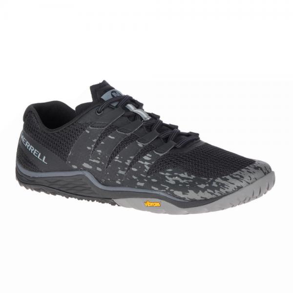 Merrell Barefoot - Trail Glove 5 (Herren) - Barfußschuhe - Black/Gray