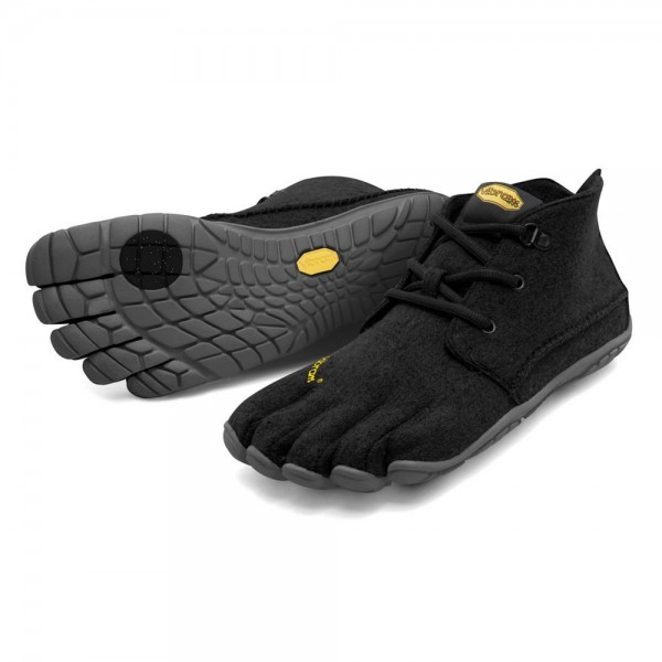 Vibram Five Fingers - CVT Wool (Damen) - Zehenschuhe - Black-Grey