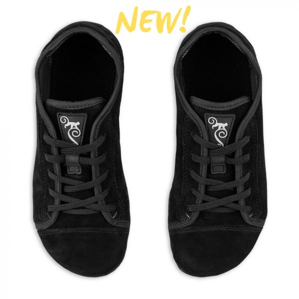 Magical Shoes- Promenade - Barfußschuhe - Black Suede