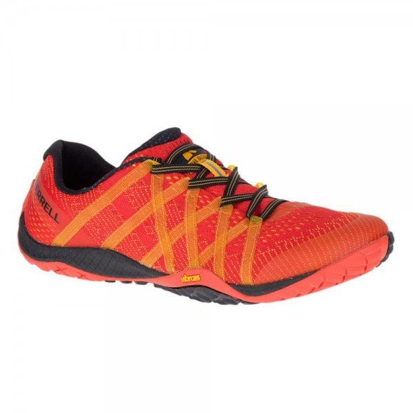 Merrell Barefoot - Trail Glove 4 Mesh (Herren) - Barfußschuhe - Saffron