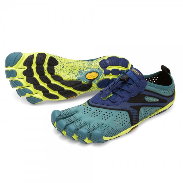 Vibram Five Fingers - V-Run (Herren) - Zehenschuhe - North Sea/Navy