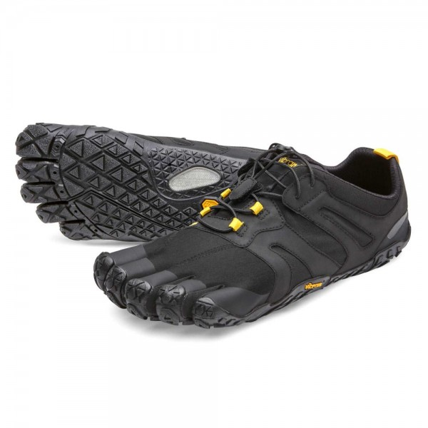 Vibram Five Fingers - V-Trail 2.0 (Herren) - Zehenschuhe - Black-Yellow
