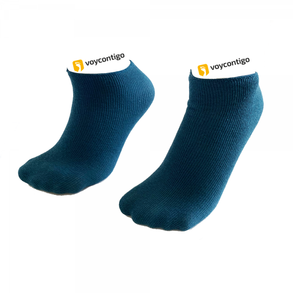 Voycontigo - Wintersocken - Kinder - Blau