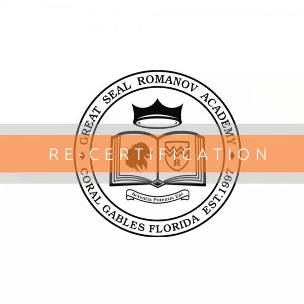 Coaches • Re-Zertifizierung/Re-Certification 8.1