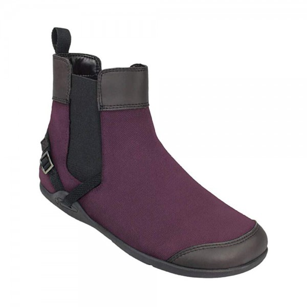 XEROSHOES - Vienna - Barfußschuhe (Damen) - Canvas Boot - Merlot