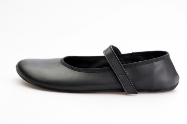 AHINSA SHOES - Ananda Barfuß Ballerina (Damen) - Black