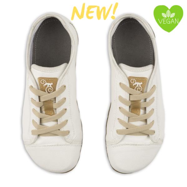 Magical Shoes- Promenade - Barfußschuhe - White Vegan