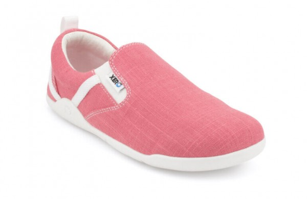 XERO SHOES - Aptos - Hanf Canvas Slip-On - Barfußschuhe (Damen) - Geranium