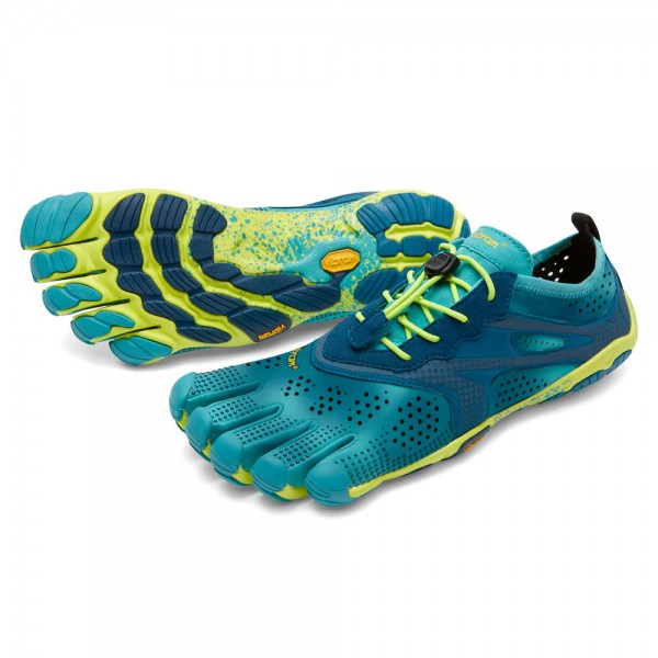 Vibram Five Fingers - V-Run (Damen) - Zehenschuhe - Teal Navy