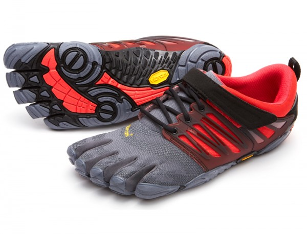 Vibram Five Fingers - V-Train (Herren) - Zehenschuhe - Grey/Black/Red