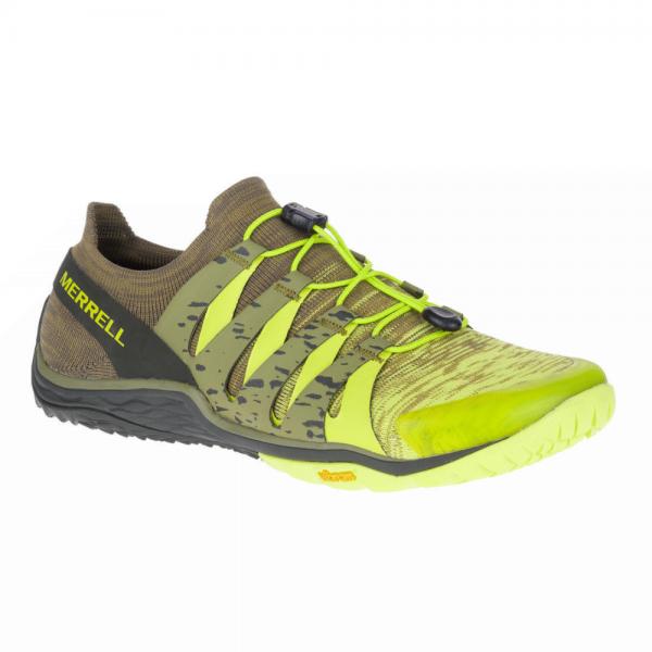 Merrell Barefoot - Trail Glove 5 3D (Herren) - Barfußschuhe - Lime Punch