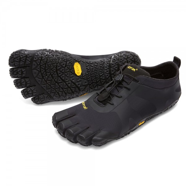 Vibram Five Fingers - V-Alpha (Damen) - Zehenschuhe - Black-Black