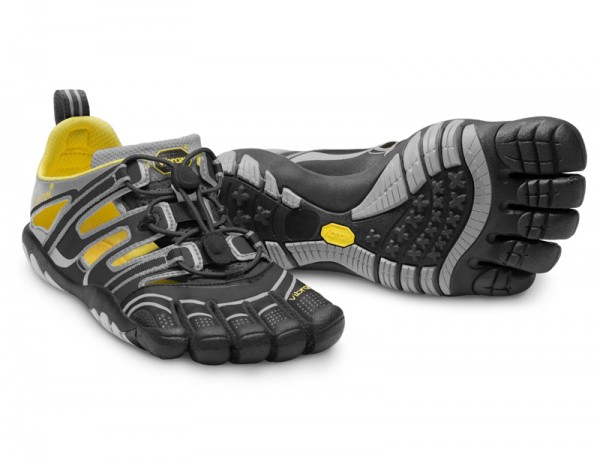 Vibram Five Fingers - Trek Sport Sandal (Damen) - Zehenschuhe - Black/Dark Grey