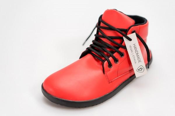 AHINSA SHOES - Sundara Stiefelette Trek Barfuß - Rot