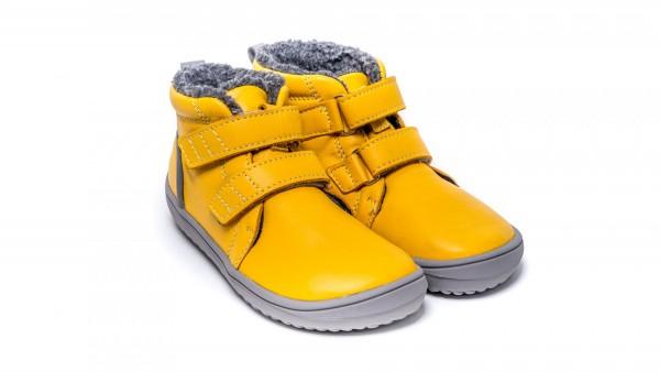 Be Lenka - Penguin (Kinder) - Winter Barfußschuhe - Yellow