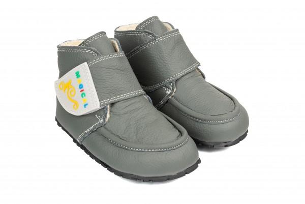 Magical Shoes - Ziuziu (Kinder) - Barfußschuhe - Grau