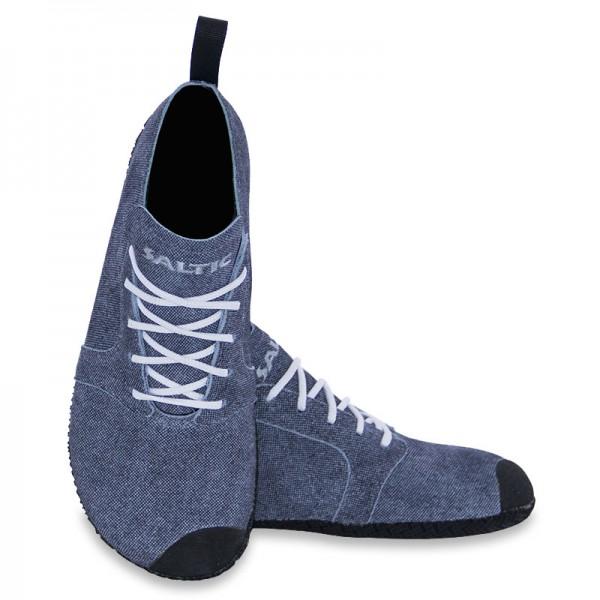 Saltic - Fura M - Barfußschuhe - Jeans (Leder)