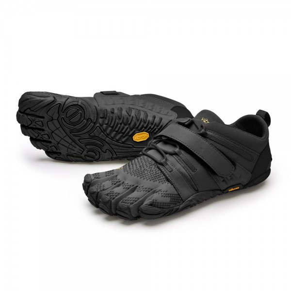 Vibram Five Fingers - V-Train 2.0 (Damen) - Zehenschuhe - Black/Black