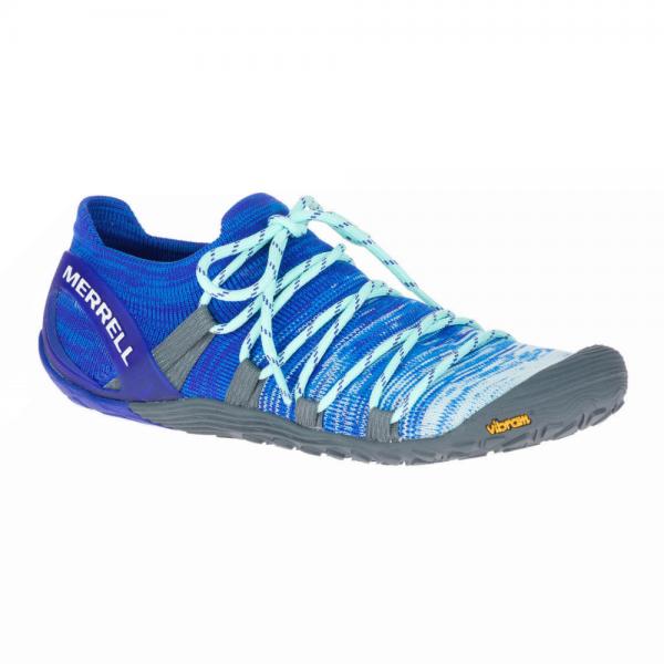 Merrell Barefoot - Vapor Glove 4 3D (Damen) - Barfußschuhe - Aqua/Surf