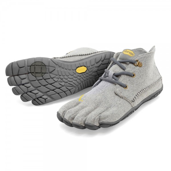 Vibram Five Fingers - CVT Wool (Herren) - Zehenschuhe - Grey