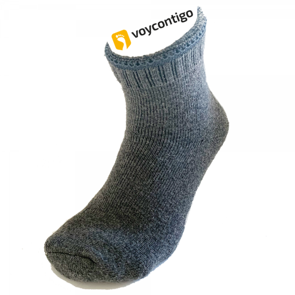 Voycontigo - Wollsocken - Damen - Dark Gray