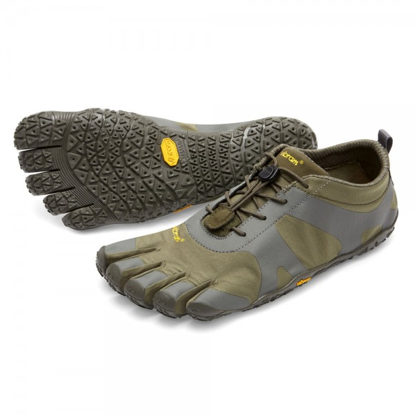 Vibram Five Fingers - V-Alpha (Herren) - Zehenschuhe - Military-Darkgrey