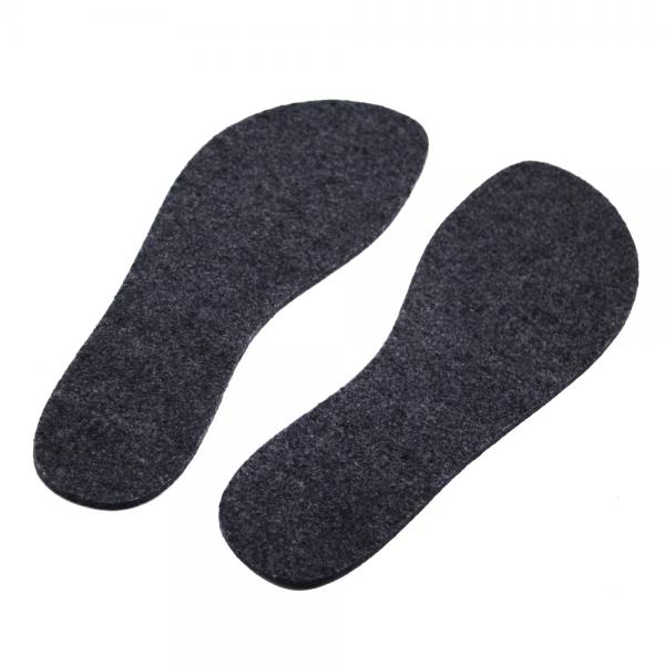 Voycontigo - Einlegesohle warm (Unisex) - Barfußschuhe - Grau
