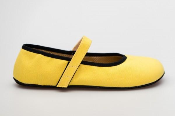 AHINSA SHOES - Ananda Barfuß Ballerina (Damen) - Yellow Sunbrella