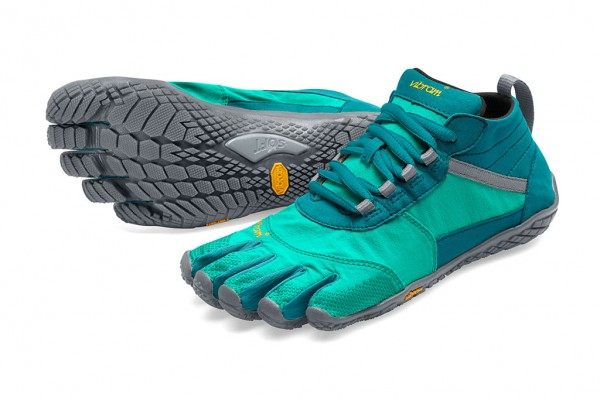 Vibram Five Fingers - V-Trek (Damen) - Zehenschuhe - Teal - Blue