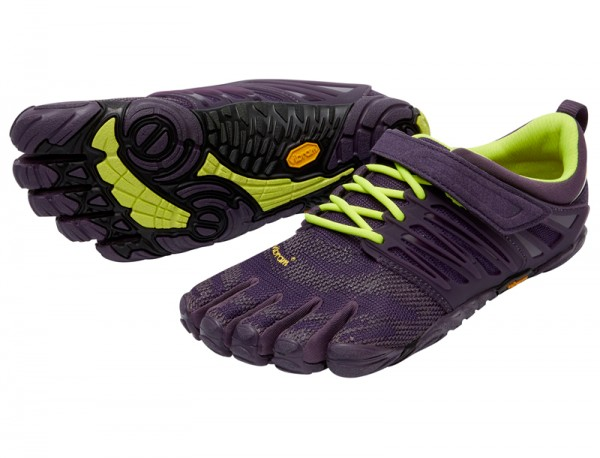 Vibram Five Fingers - V-Train (Damen) - Zehenschuhe - Nightshade/Safetyyellow