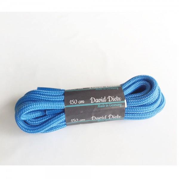 David Dietz - Schnürsenkel Dick 0.60 cm (Unisex) - Hellblau