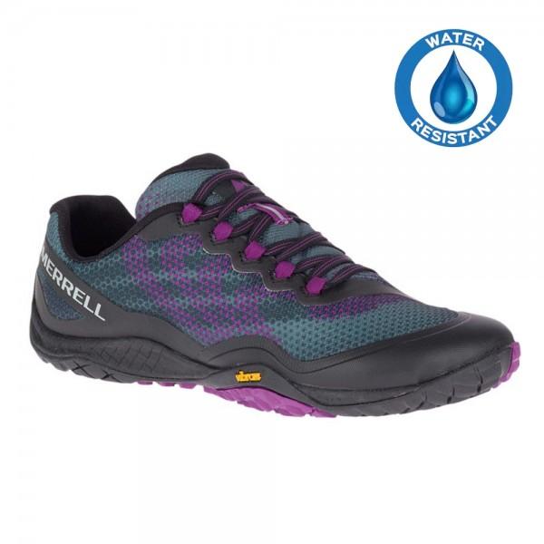 Merrell Barefoot - Trail Glove 4 Shield (Damen) - Barfußschuhe - Black-Purple