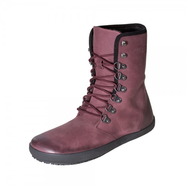 Sole Runner - Yepa 2 (Damen) - Barfußschuhe - Bordo-Leder 2019