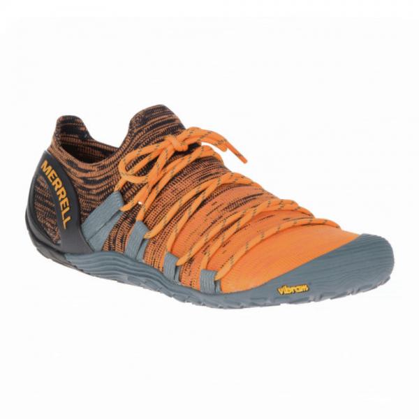 Merrell Barefoot - Vapor Glove 4 3D (Herren) - Barfußschuhe - Orange/Black
