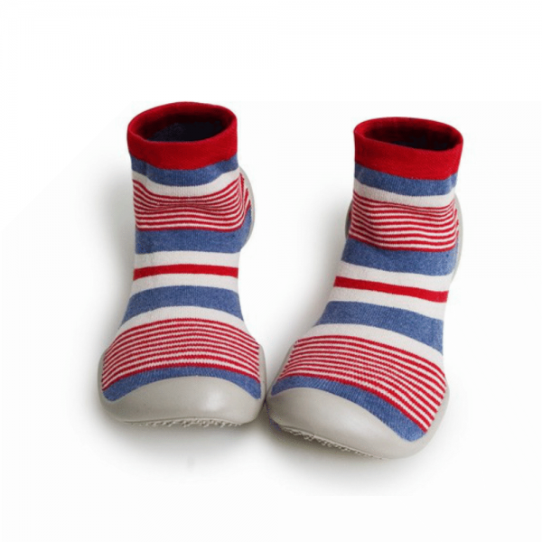 Collégien - We Love U - Barfußschuhe (Kinder) - Perfect Stripes