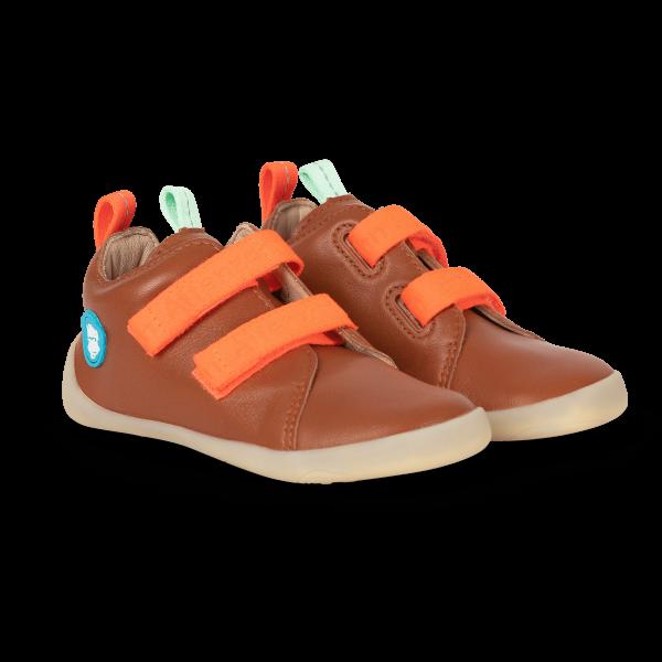 AFFENZAHN - Wild Finn Frosch (Kids) - Minimalschuhe - Leather - Coral
