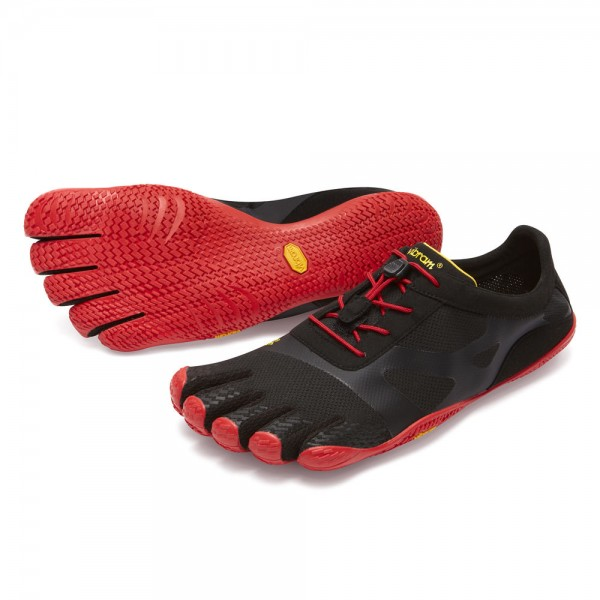 Vibram Five Fingers - KSO EVO (Herren) - Zehenschuhe - Black/Red
