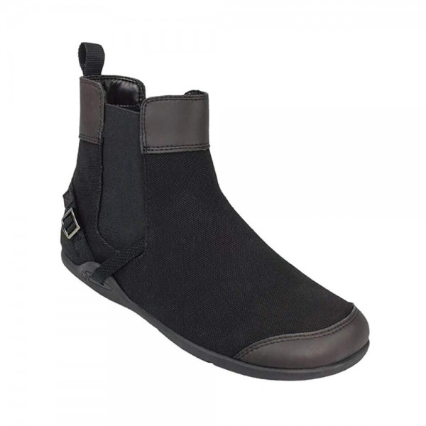 XEROSHOES - Vienna - Barfußschuhe (Damen) - Canvas Boot - Black