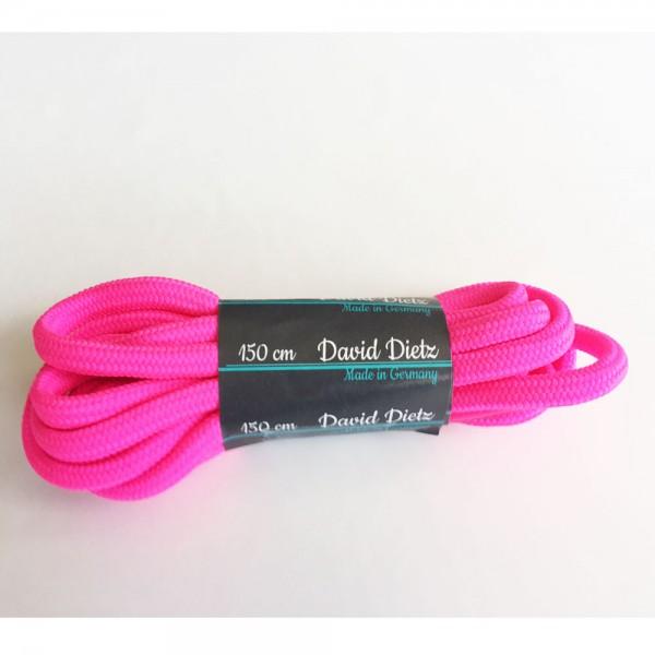 David Dietz - Schnürsenkel Dick 0.60 cm (Unisex) - Neonpink