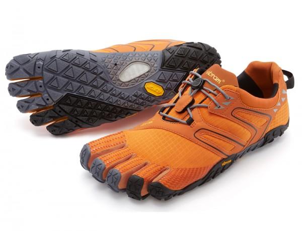 Vibram Five Fingers - V-Trail (Herren) - Zehenschuhe - Orange Grey Black