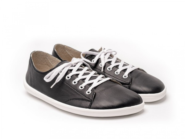 Be Lenka - Prime - Unisex - Barfuß Sneakers - Black & White